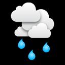 Słaby deszcz